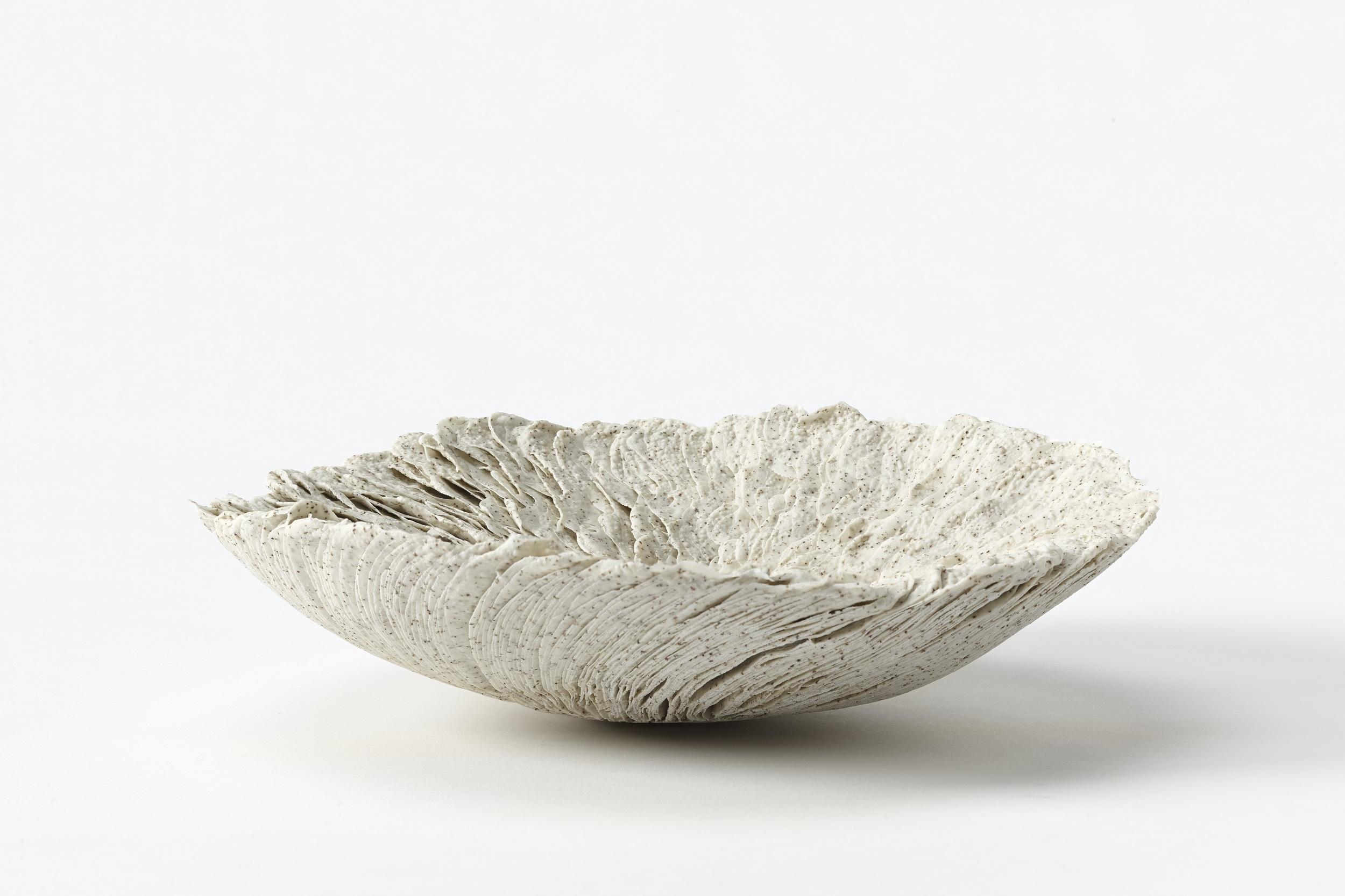Speckle,  2012, artist blend glaze material, 7cm x 26cm x 23cm