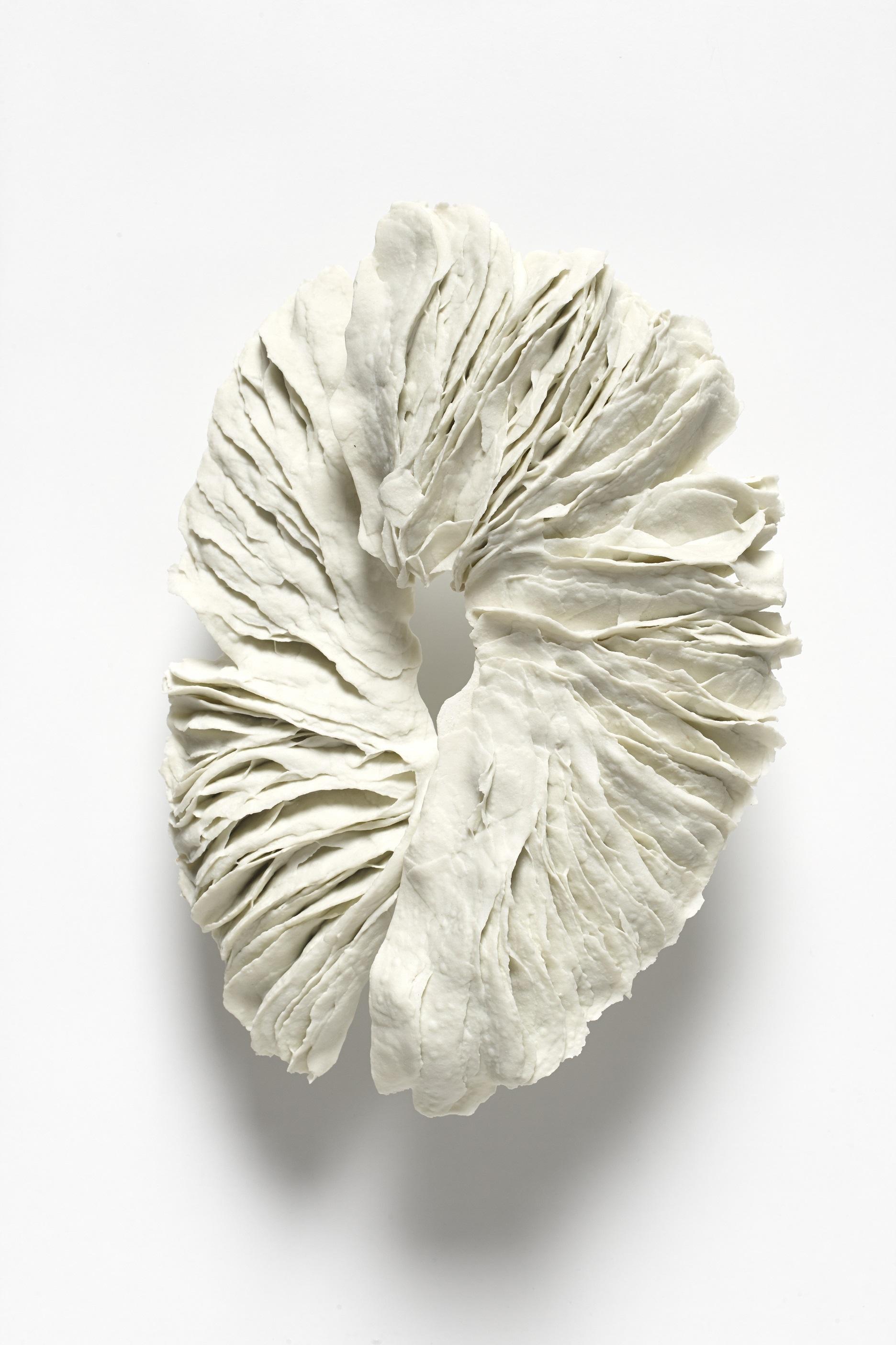 Untitled,  2012, artist blend glaze material, 35cm x 27cm x 4cm