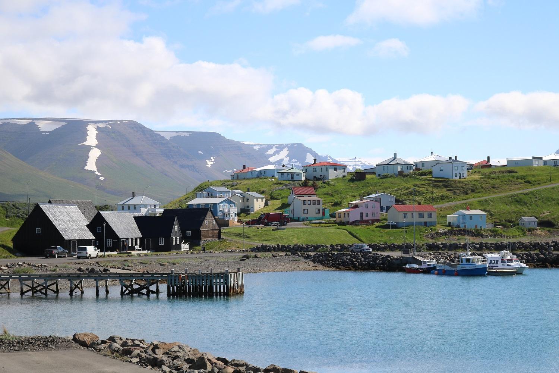 The town of Hofsos, near Baer Art Center