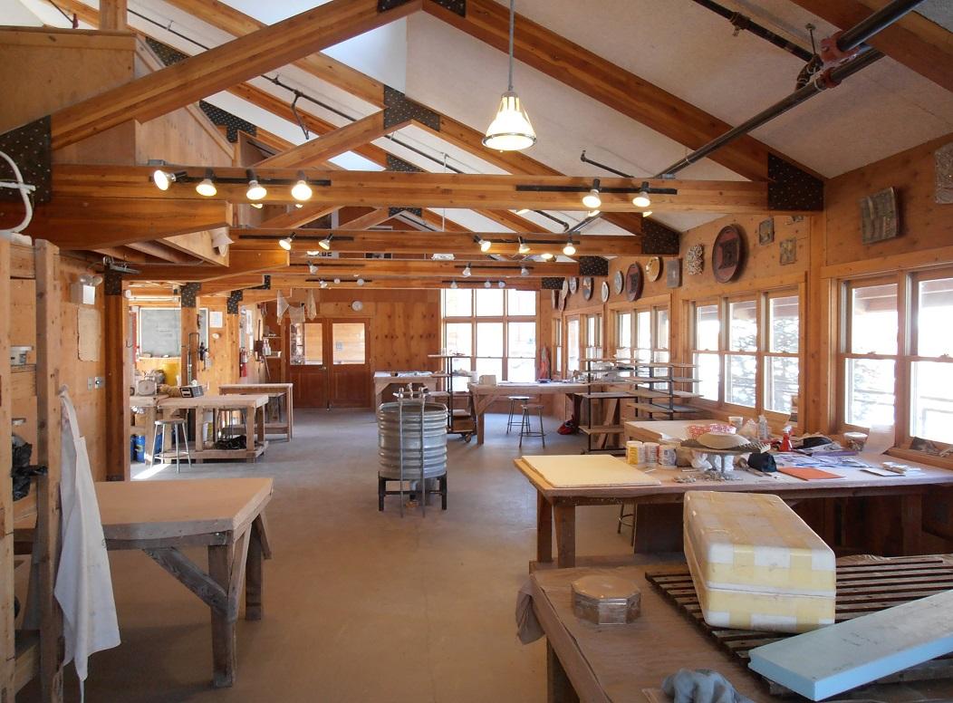 Ceramics Studio at Anderson Ranch Arts Center