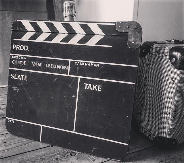 Love my new old-school film Clipboard 😻🎬🙌🏼 #perfectgift #clipboard #filmtools #filmlife #oldschool #hollywood #director 💕