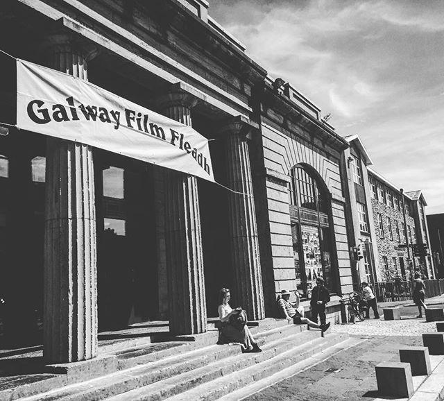 Galway Film Fleadh 😻🎞✌🏼 #galway #galwayfilmfleadh #filmfestival #ireland #cinematography #filmlife