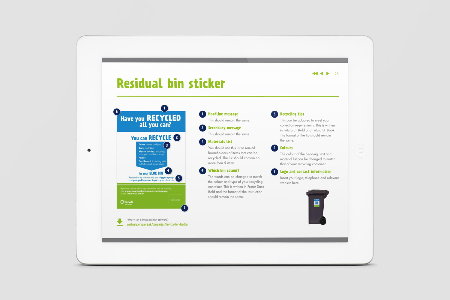 Recycle-for-London-Brand-Guidelines-bin-sticker-iPad-leaflet-by-Get-it-Sorted.jpg