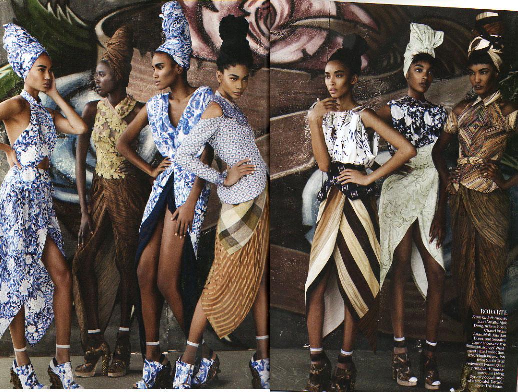 Vogue Magazine for Rodarte
