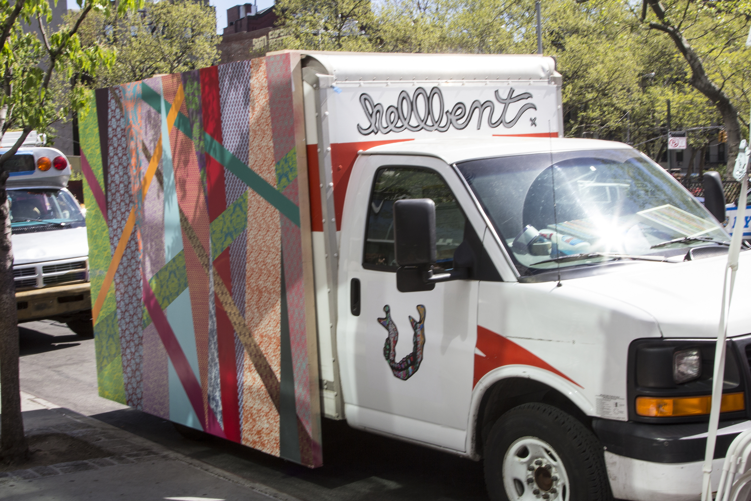 Truck Yeah install for New Museum's Idea City