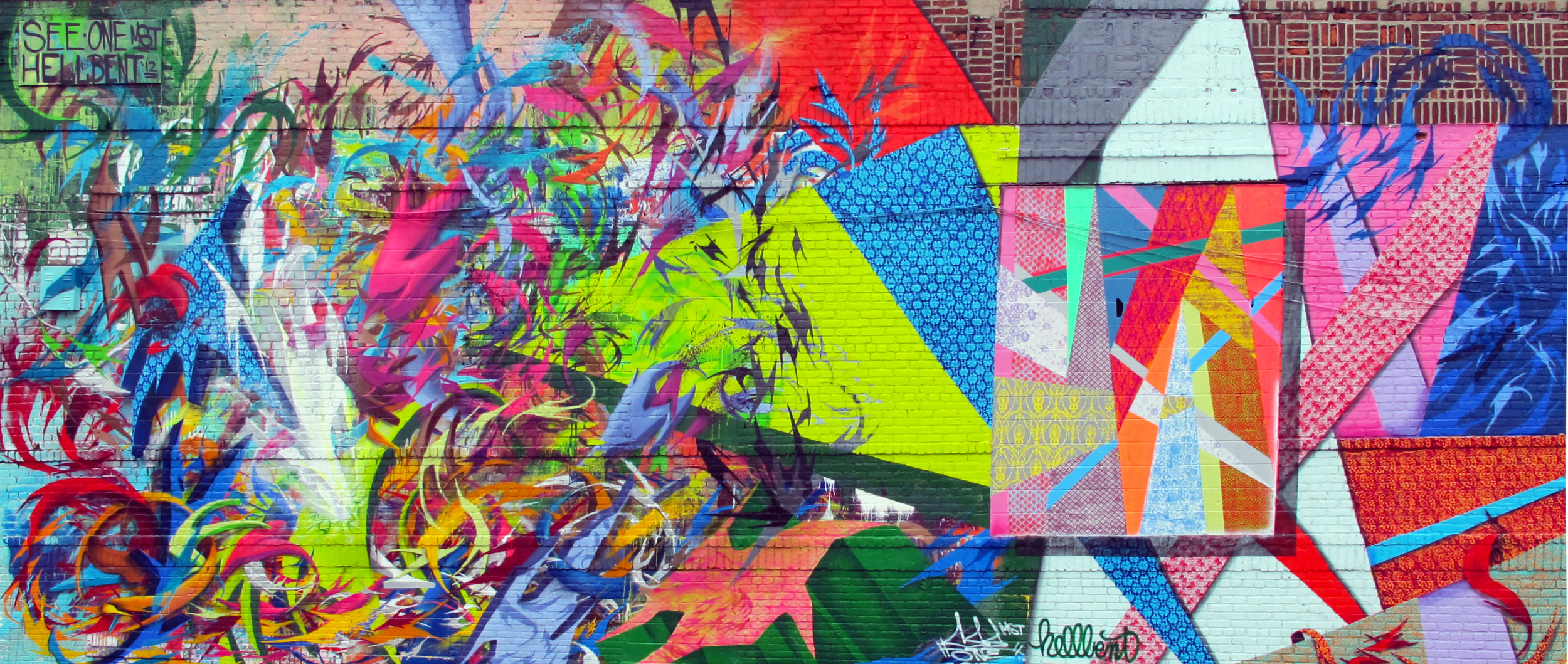Collab with SeeOne for Bushwick Collective