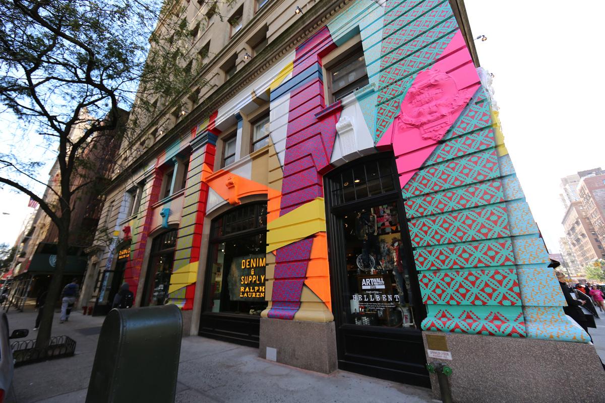 Commission Ralph Lauren Denim and Supply store