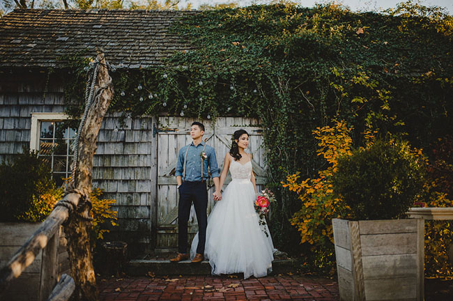Style Shoot    at Terrain    Green Wedding Shoes