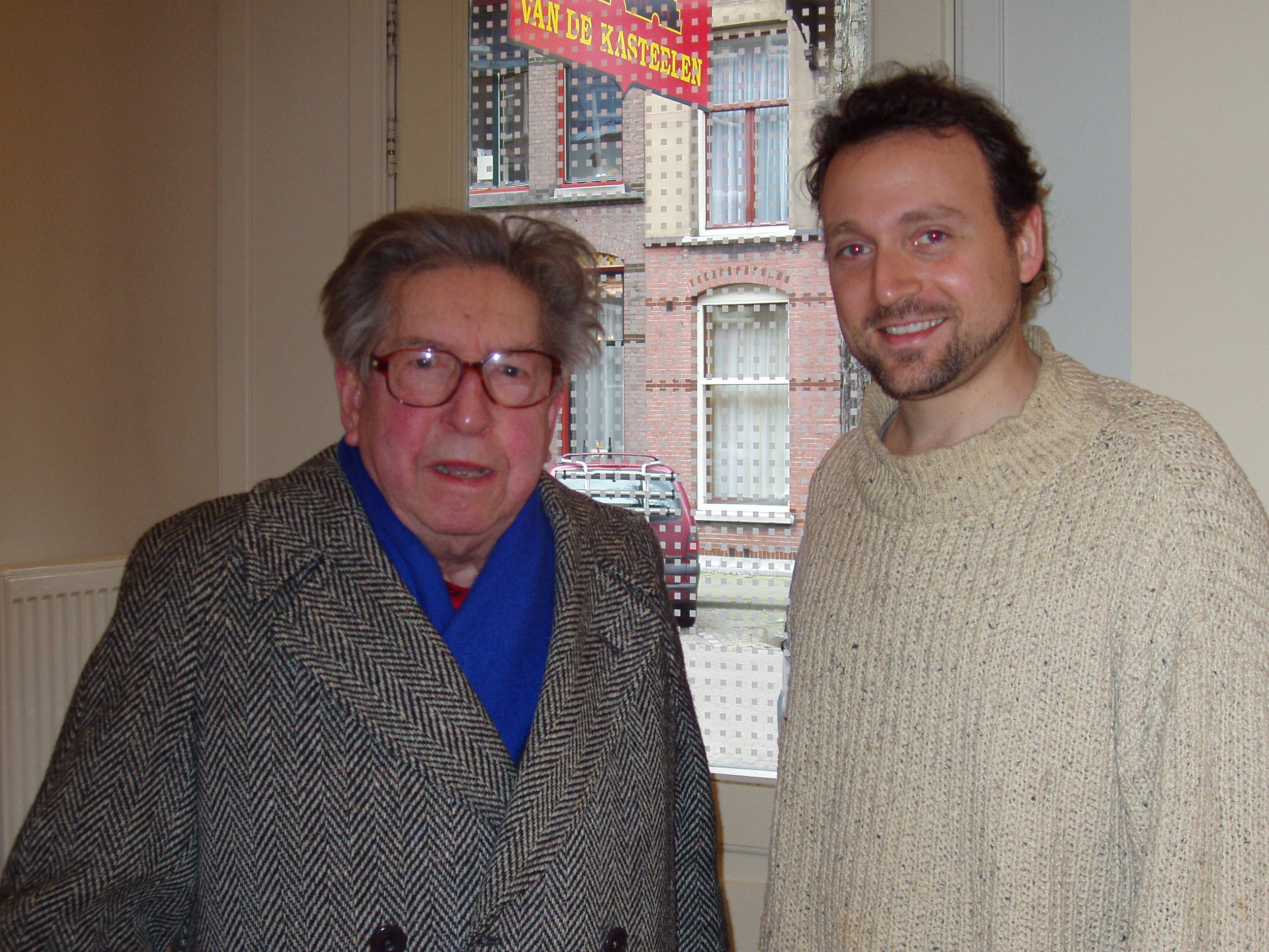with Henri Dutilleux in Amsterdam
