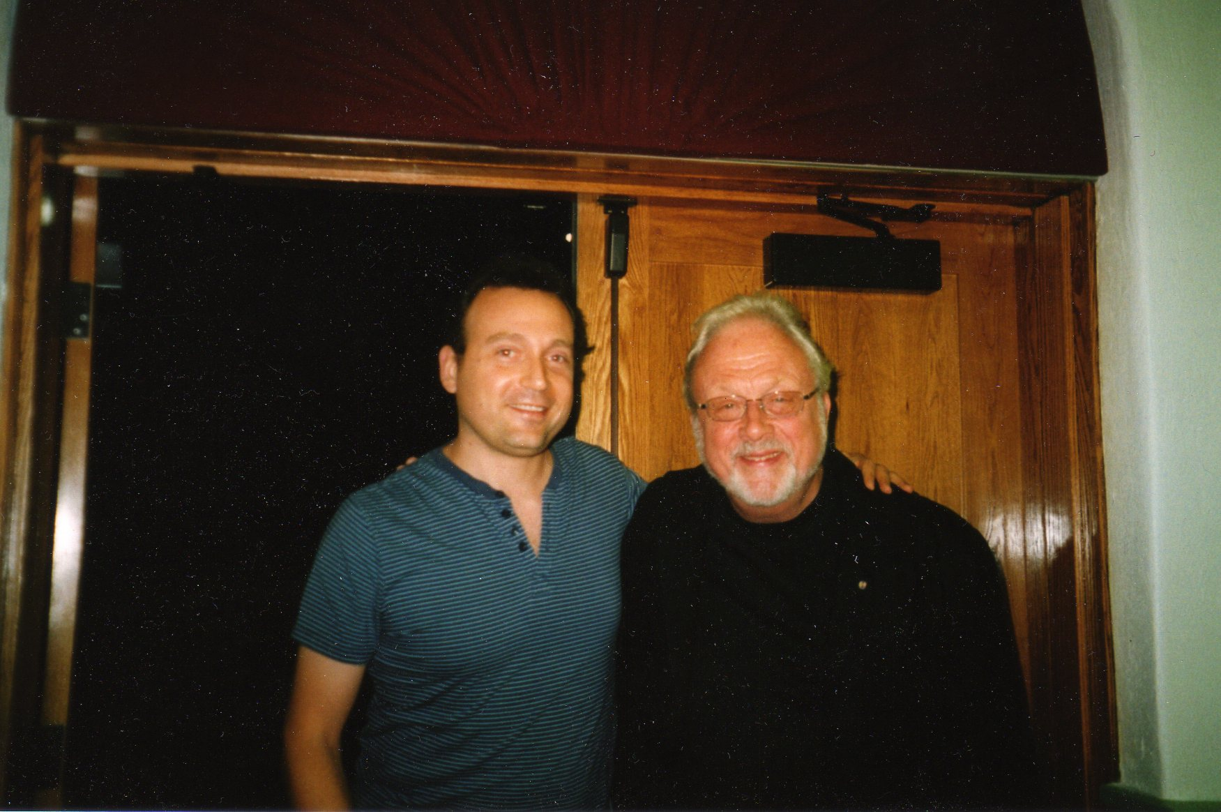 with William Bolcom in Ann Arbor