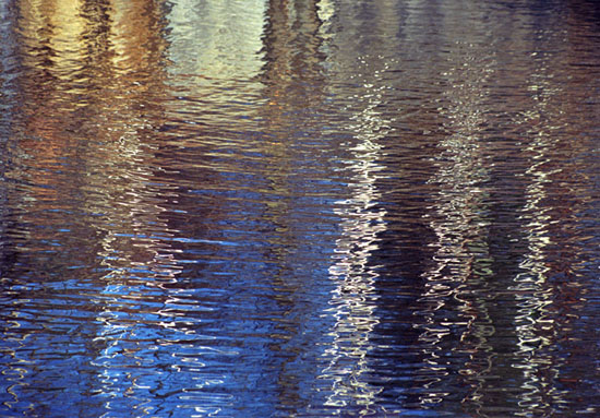 Shimmering Wall Reflections