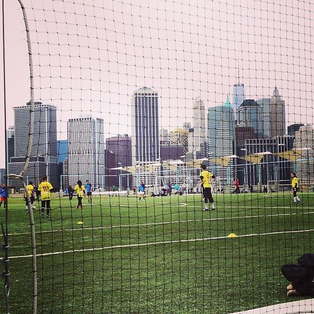 Soccer in Brooklyn, Spring 2014