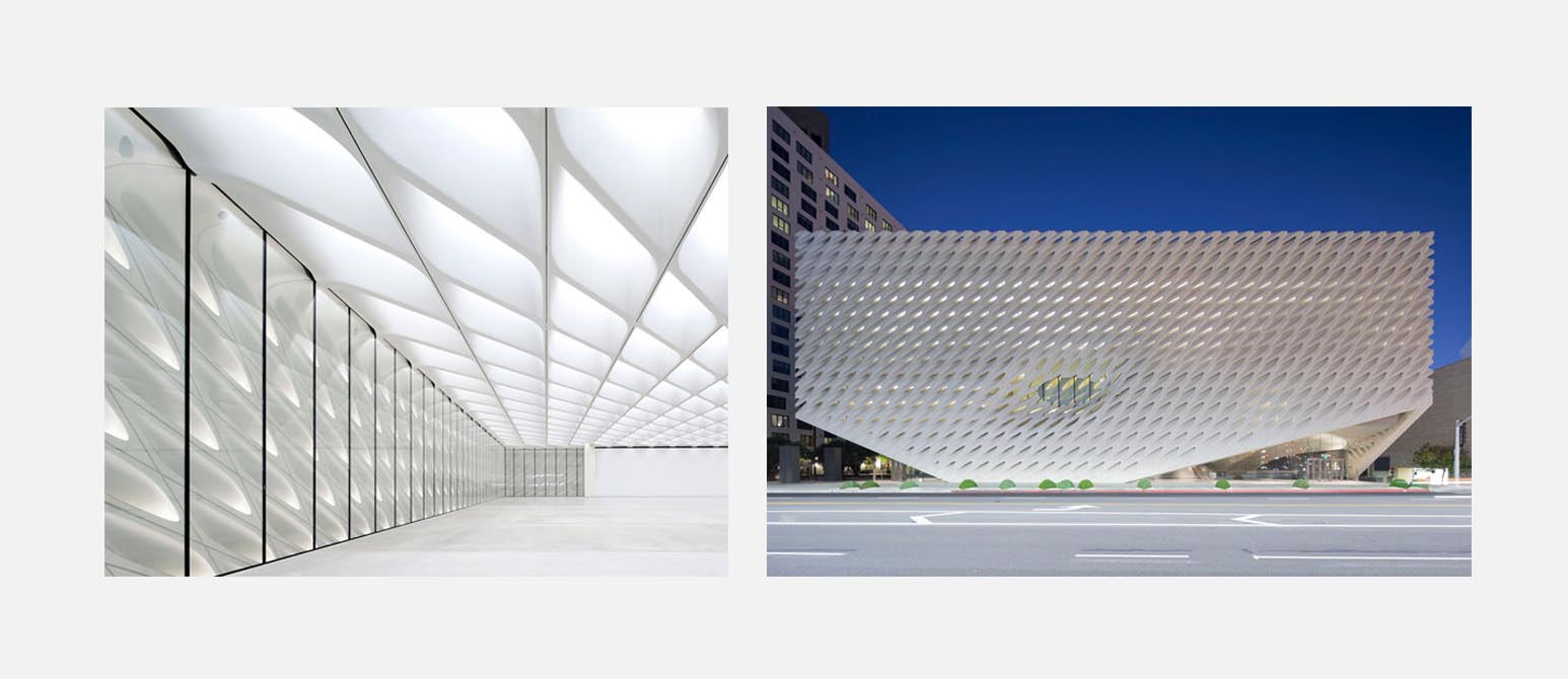 The Broad, contemporary arts museum in Downtown L.A.