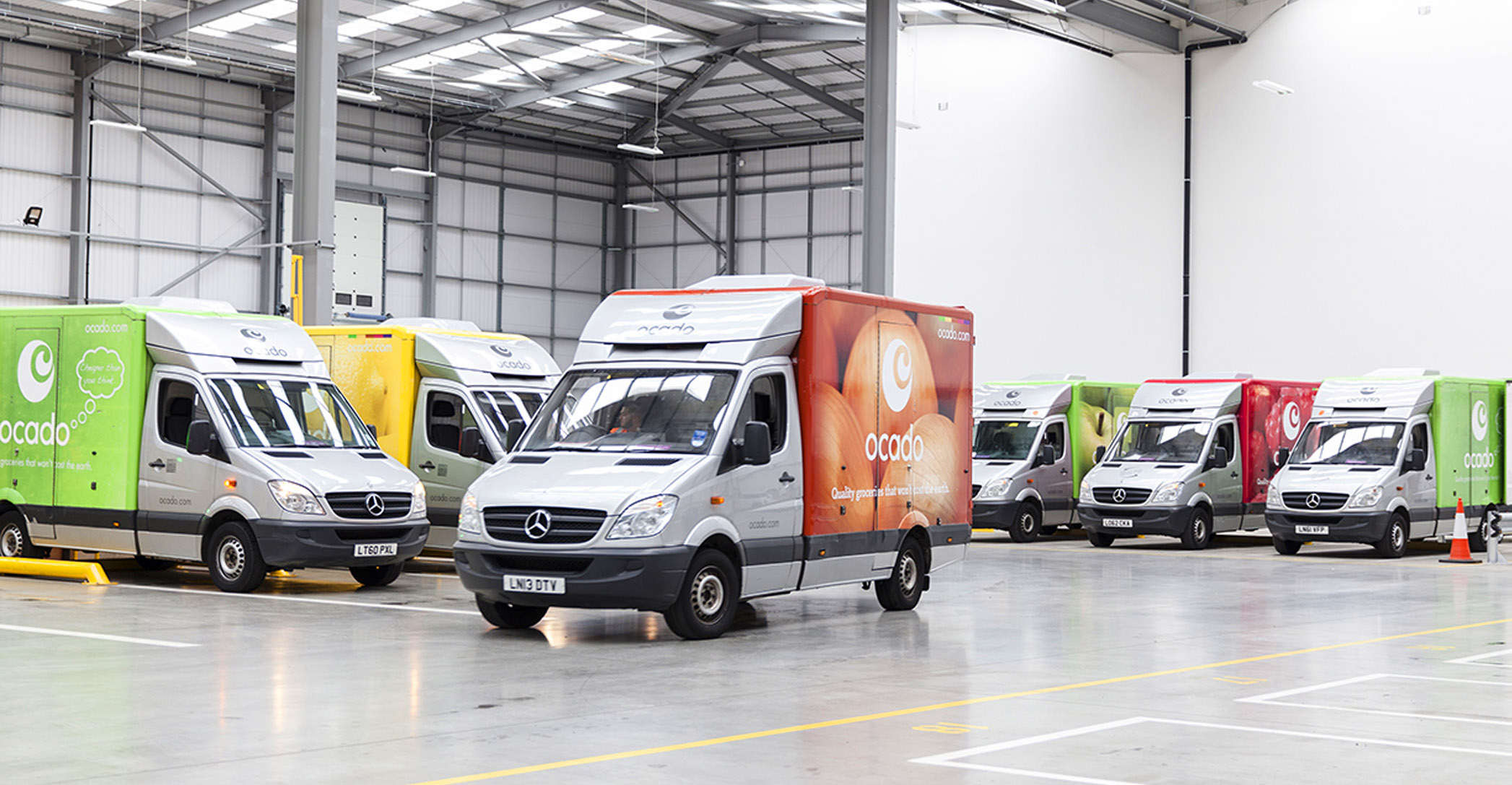 Ocado is the UK's largest online-only supermarket