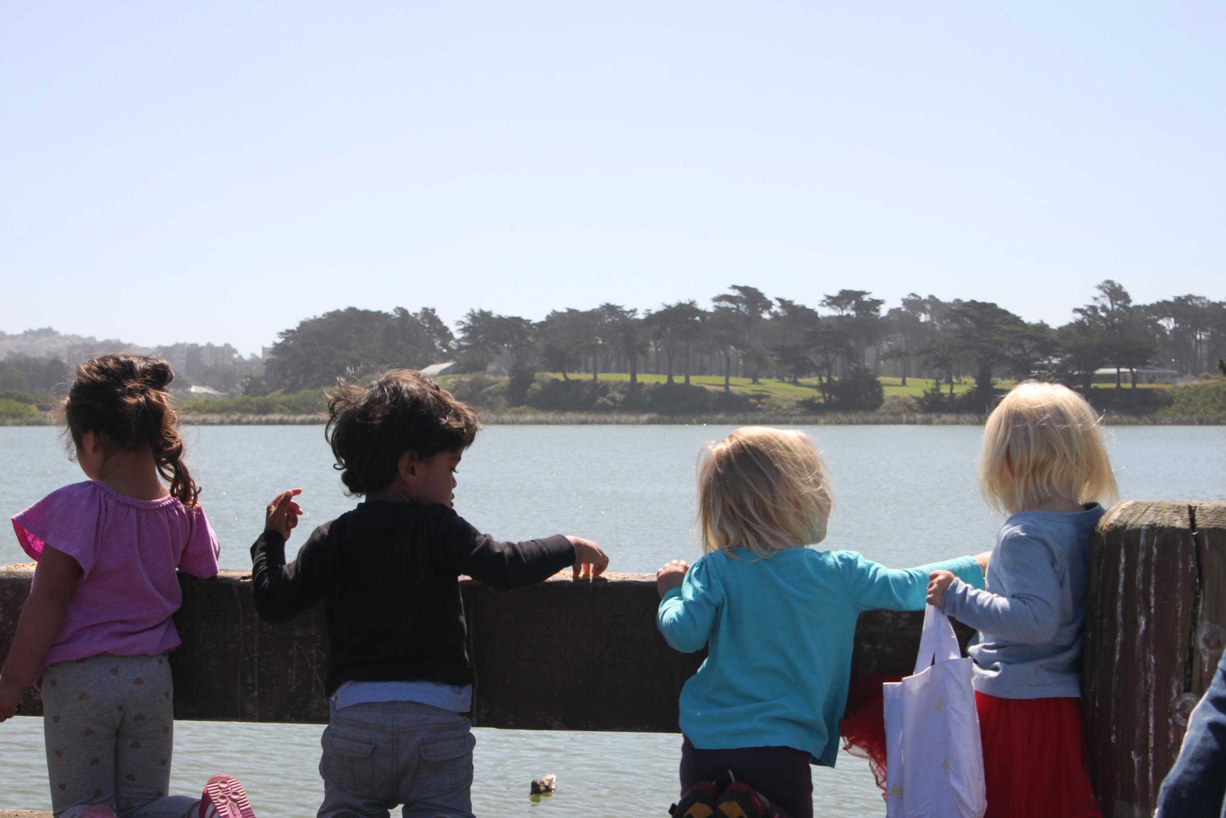 toddler birthday party, Lake Merced San Francisco