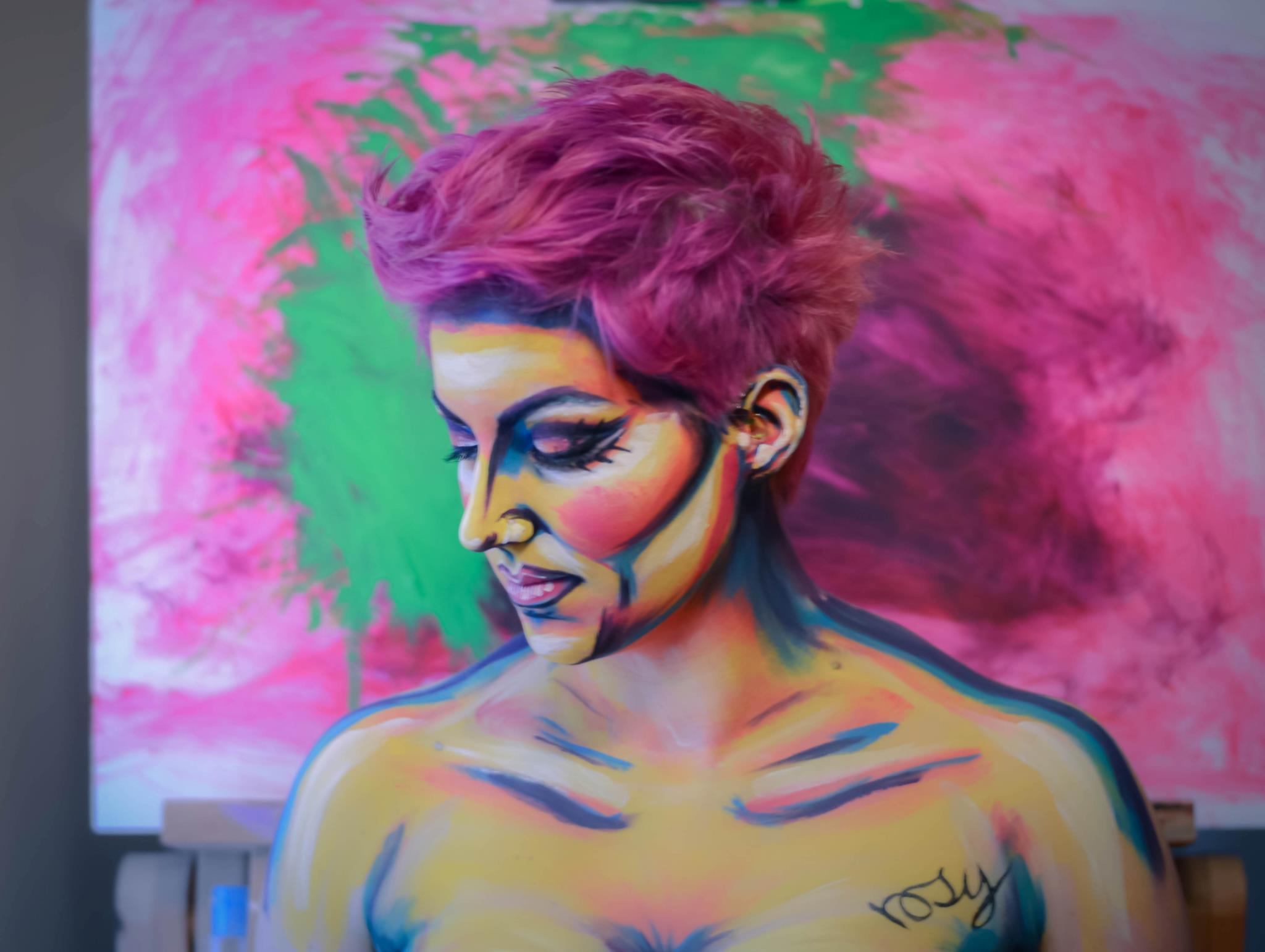 Self-portrait, Bodypaint- 2013