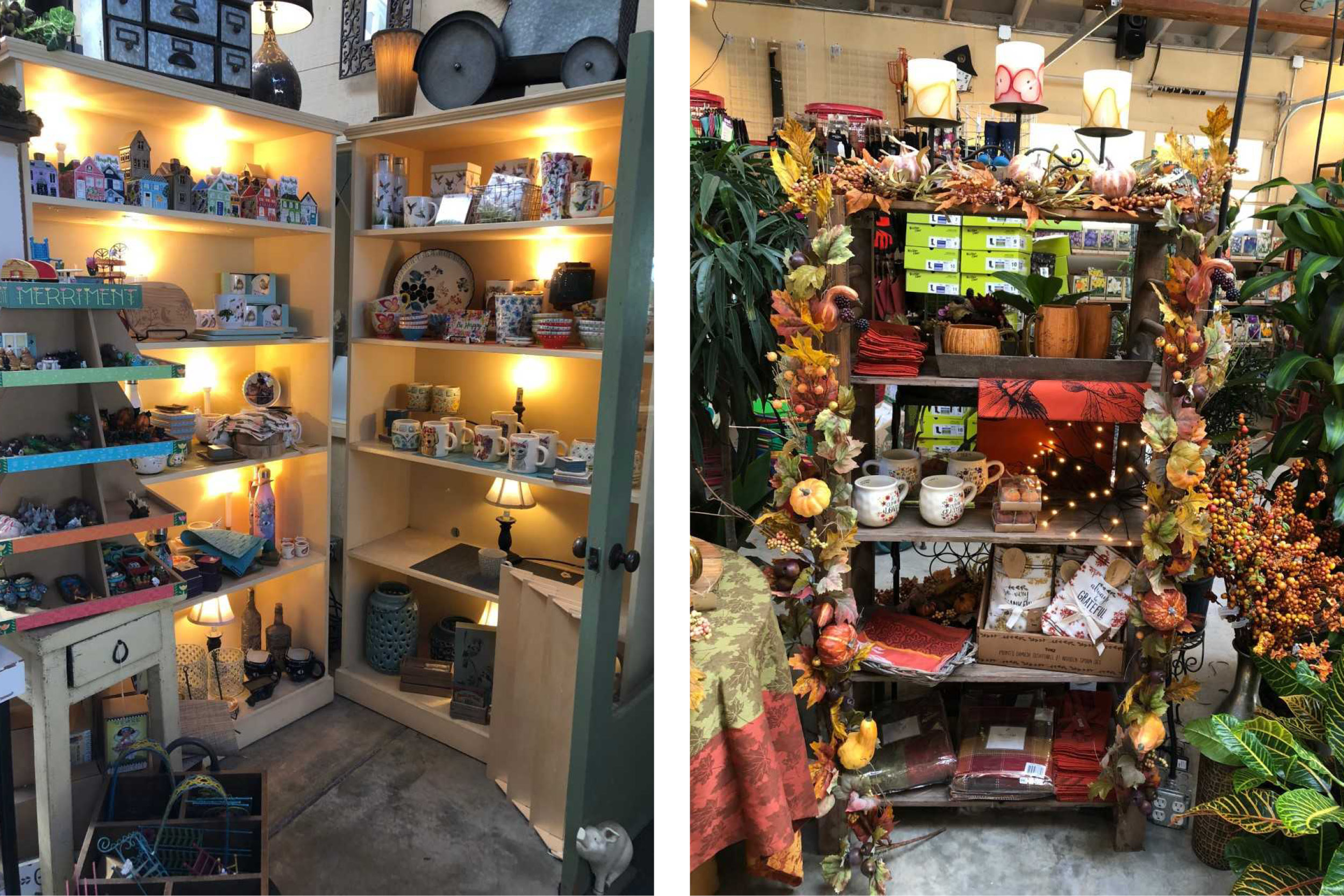 It's fun to browse the gift shop and explore seasonal offerings.