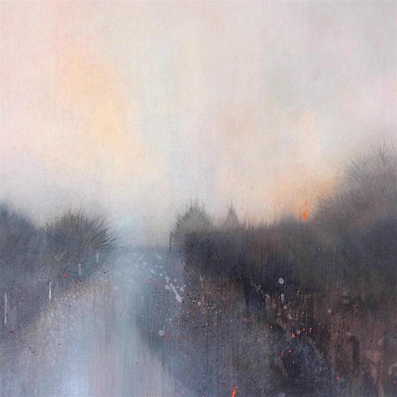 Copy of The Glowing Dusk 50x50cm