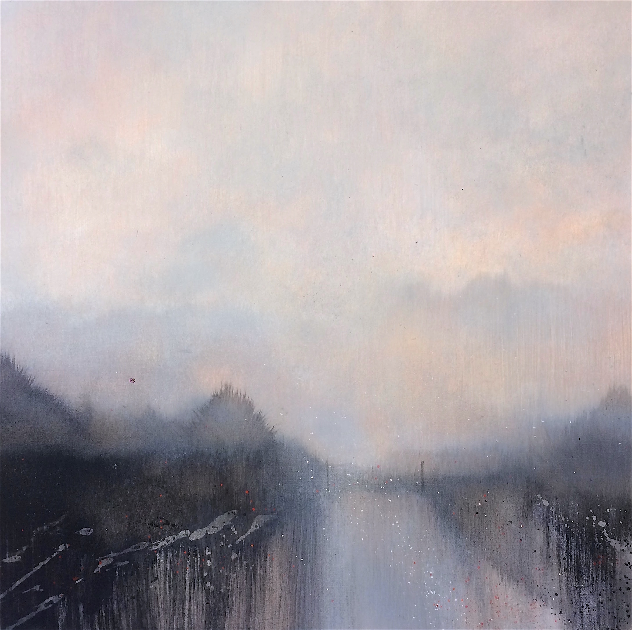 Copy of The Silent Mist 50x50cm