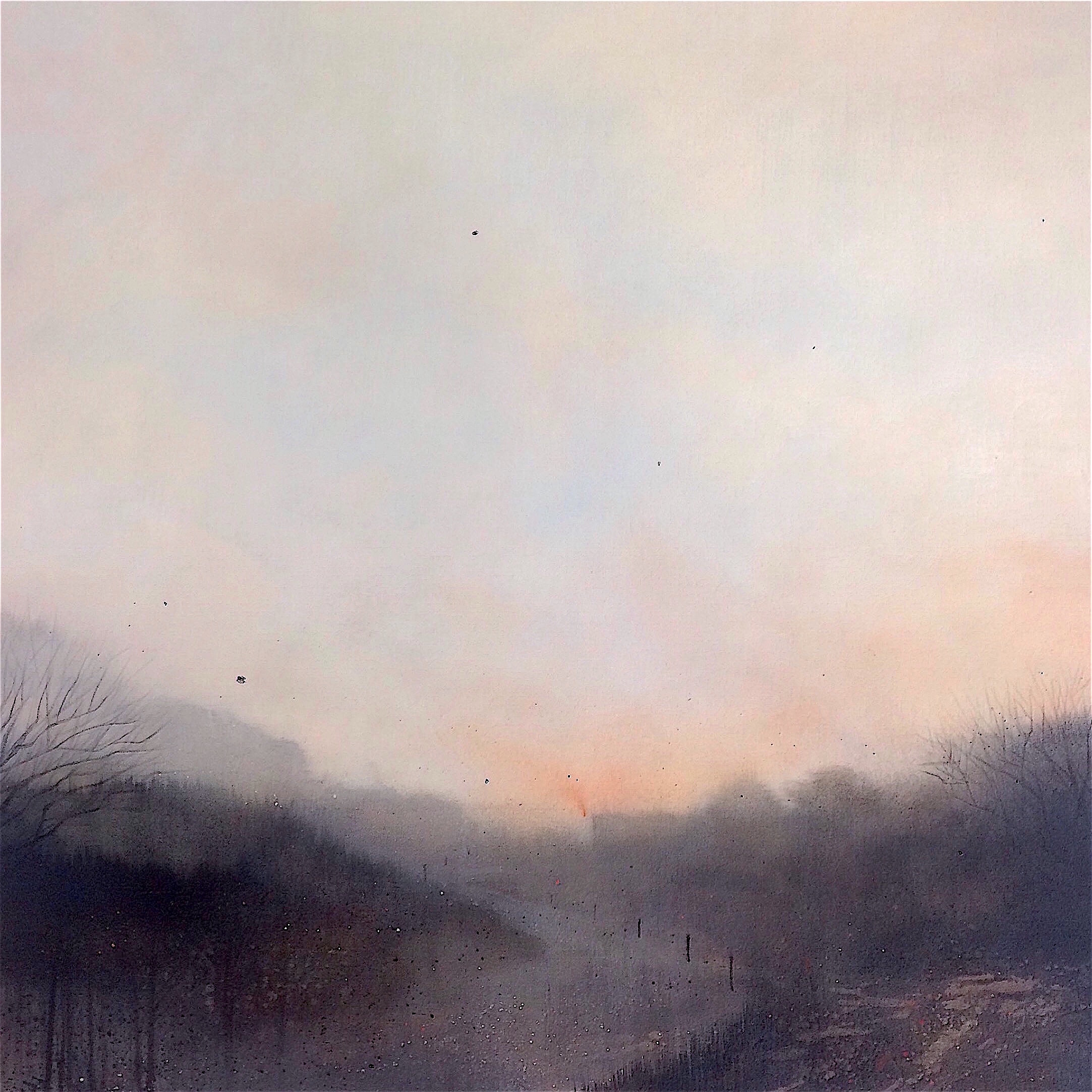 Above The River 90x90cm