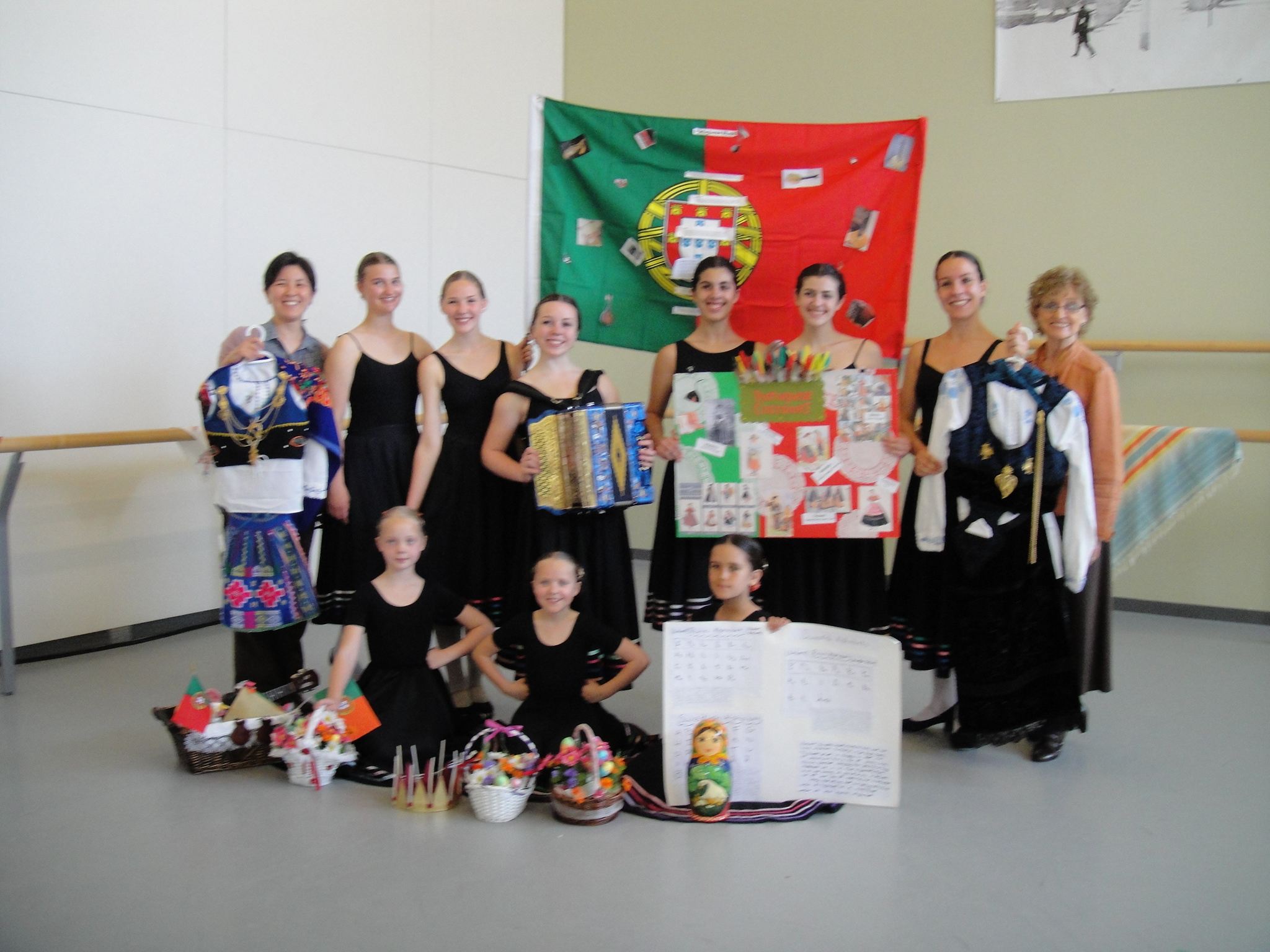 National Dance Exam students 2013