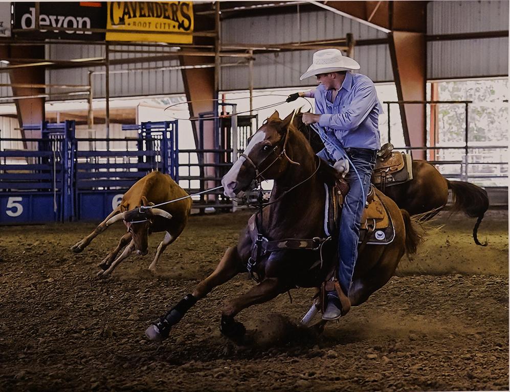 5-Roping a Steer-Kaye Hargis-Dallas CC