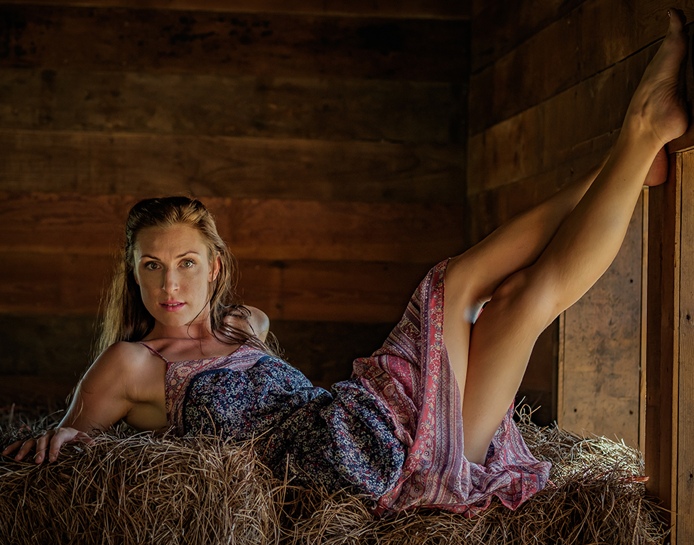 Playing in the Hay