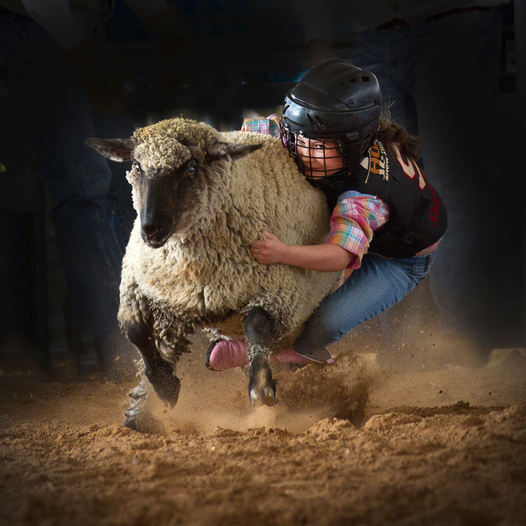 Mutton Bustin', Janet Chung