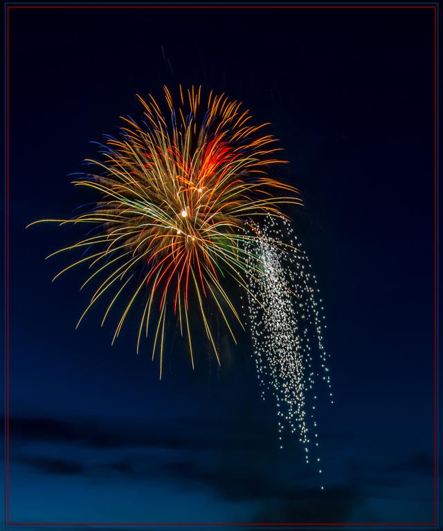 Fireworks Shower,James Gamble, Houston PC, 1st HM
