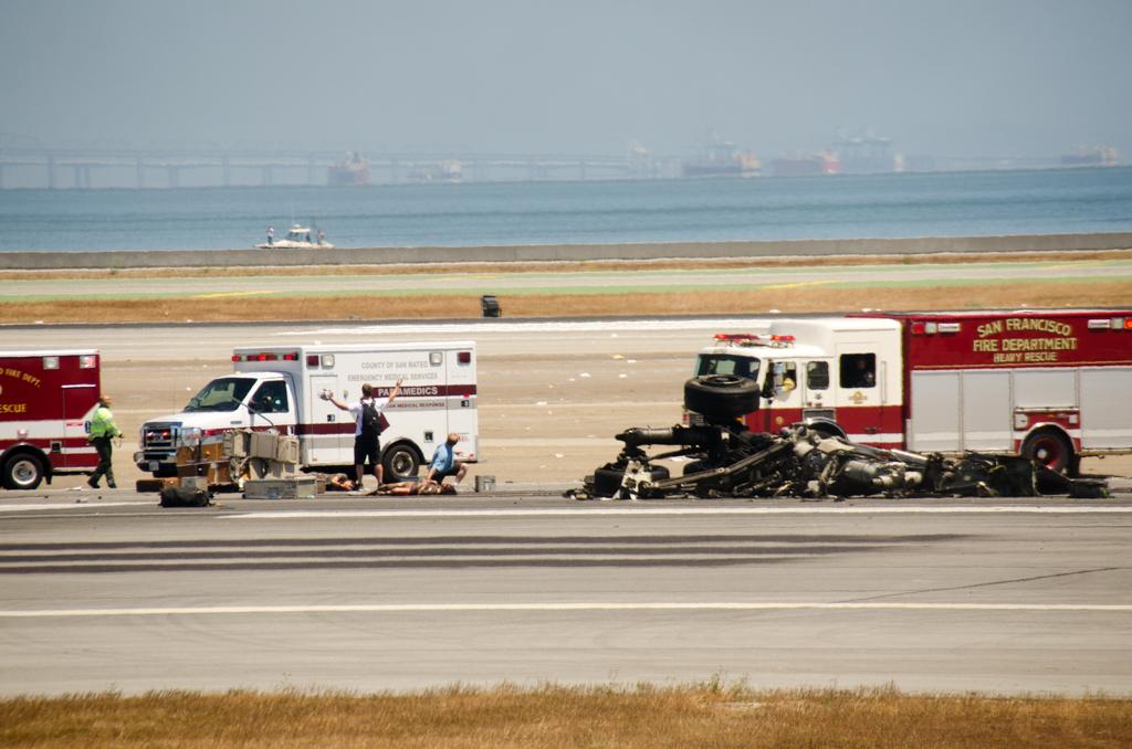 Crash of Asiana 214-3, Paul Swepston, National Park PC,  2nd Place