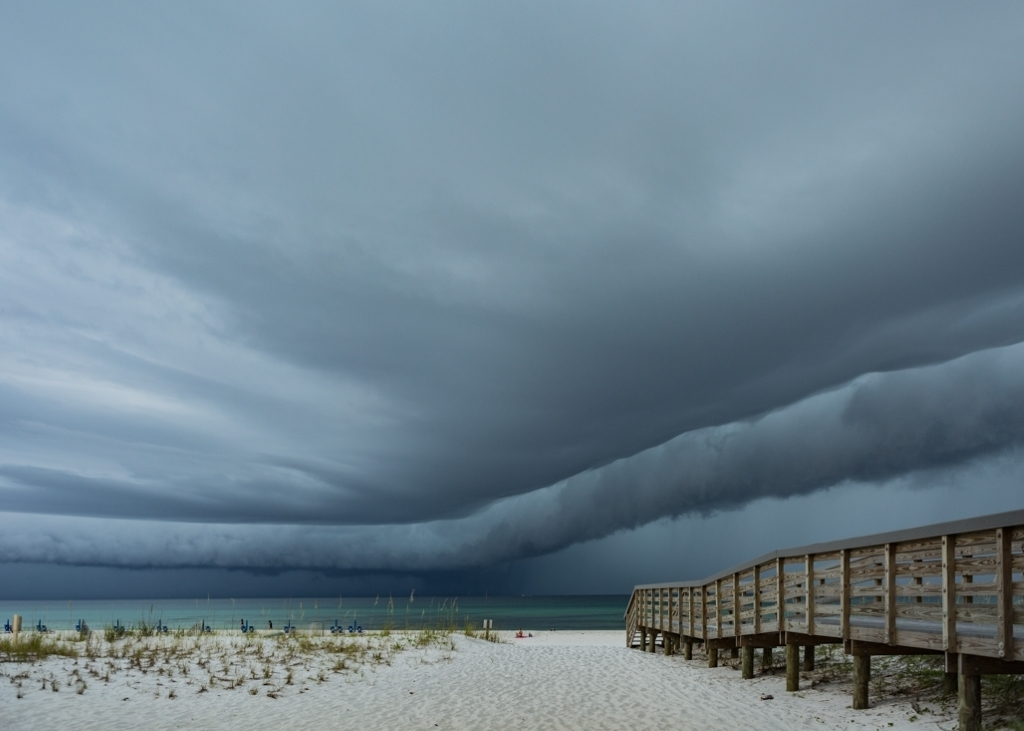 Storm Approaching,  Shawn  Ducharme,  Lafayette PS, 3rd Place