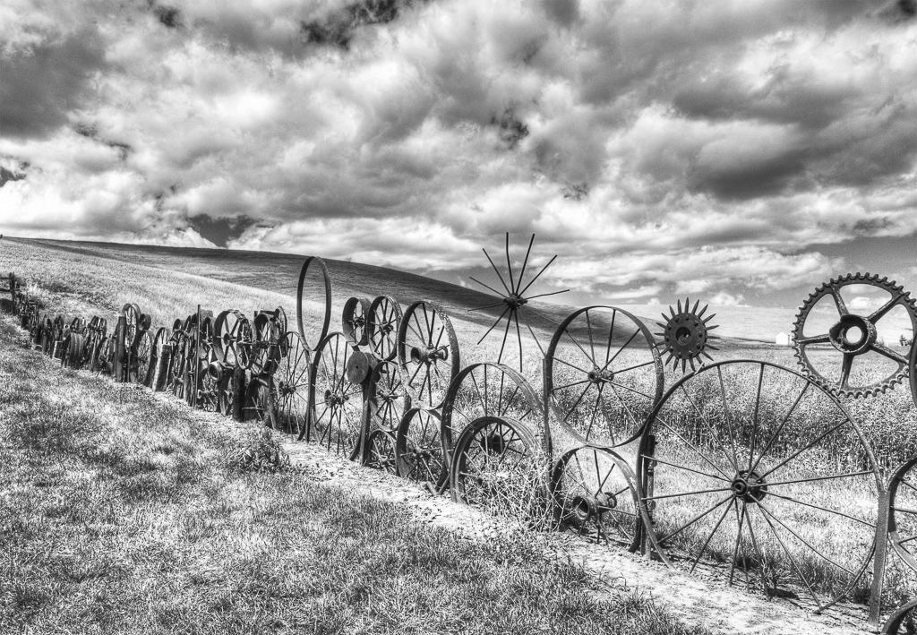 Wagon Wheel Fence, Tom Oelsner, GNOCC, 2nd HM