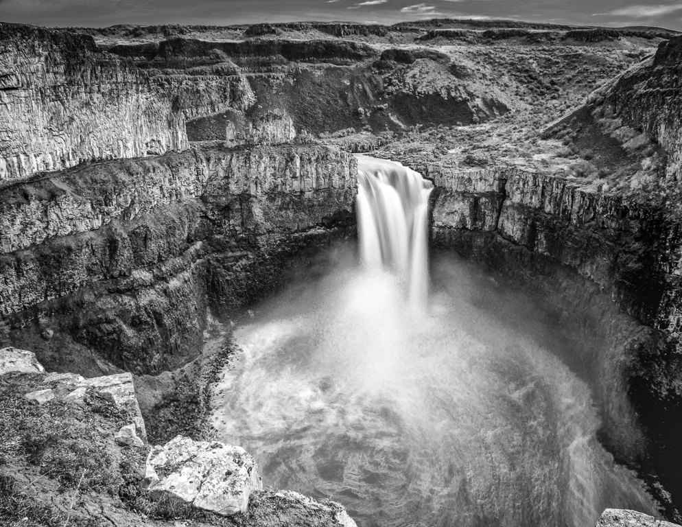Palouse Falls in February, Gregory Daley, Lafayette PS, 3rd Place