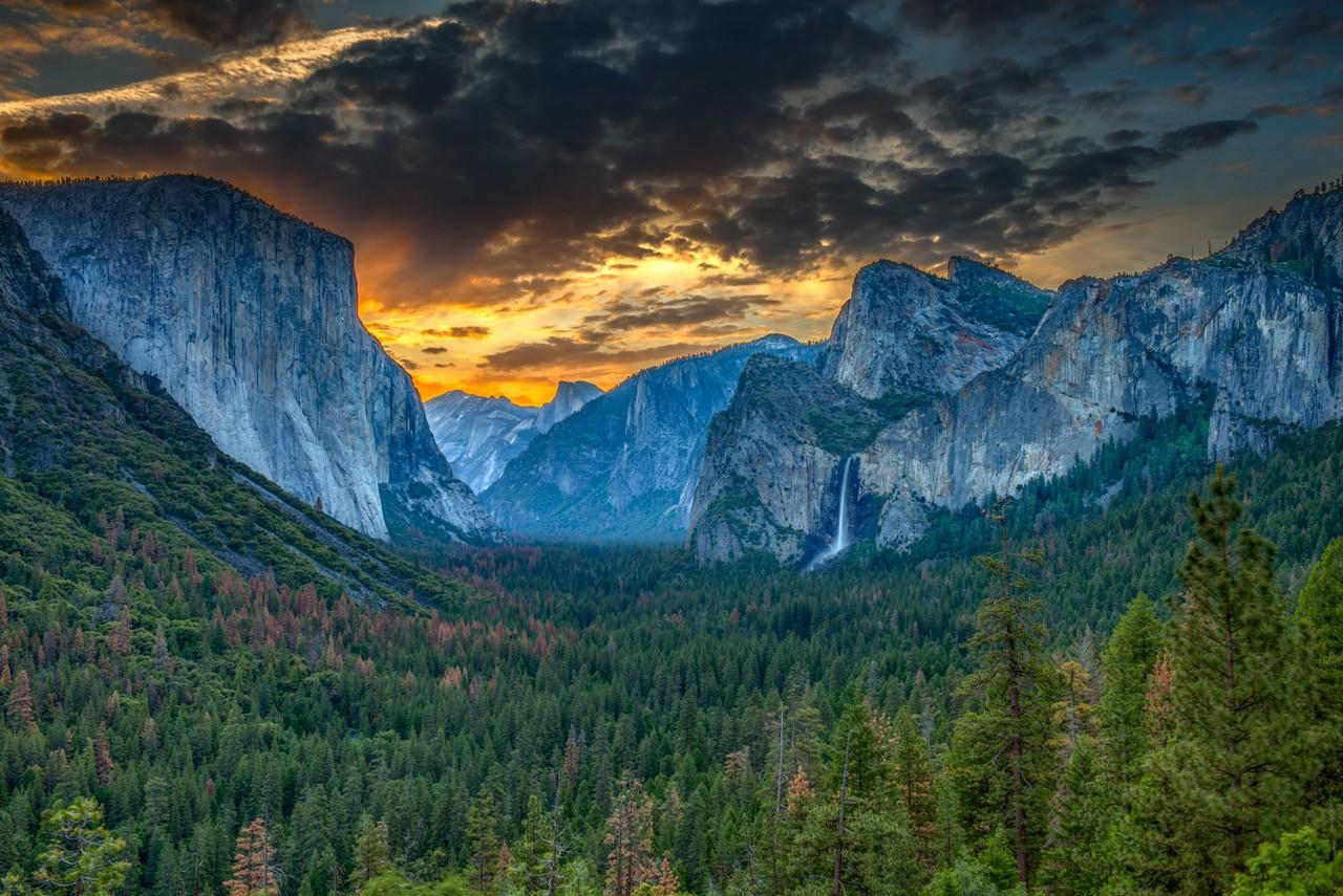 Tunnel View Yosemite, Richard Cox, Dallas CC, 2nd HM
