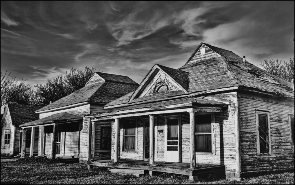 Abandoned Houses, Patty McCraw, Oklahoma CC, 1st HM