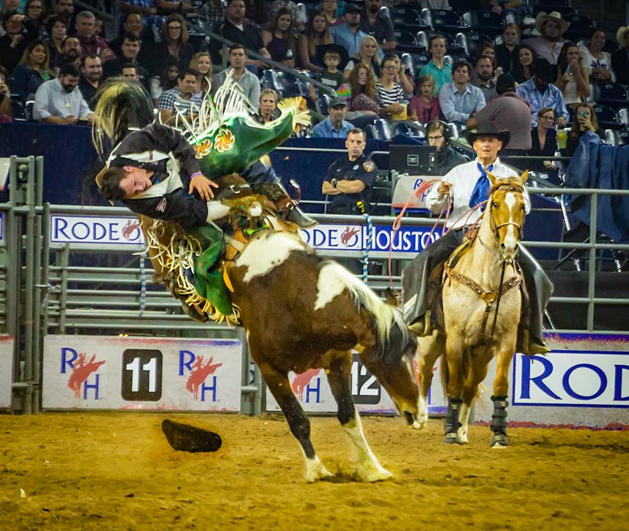 Bucked Off, Butch Spielman, Louisiana PS, 2nd HM