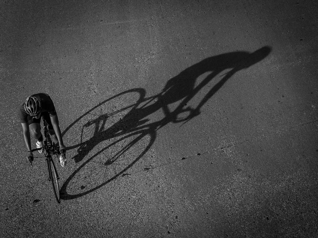 Biker,Larry Petterborg,Dallas Camera Club,2nd Place,Mono Prints