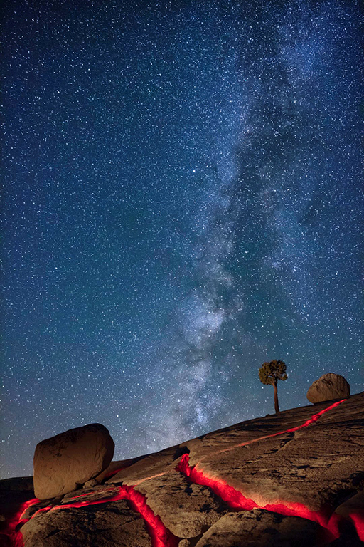 Yosemite at Night, Don Mowrer, Cowtown Camera Club, Second Place