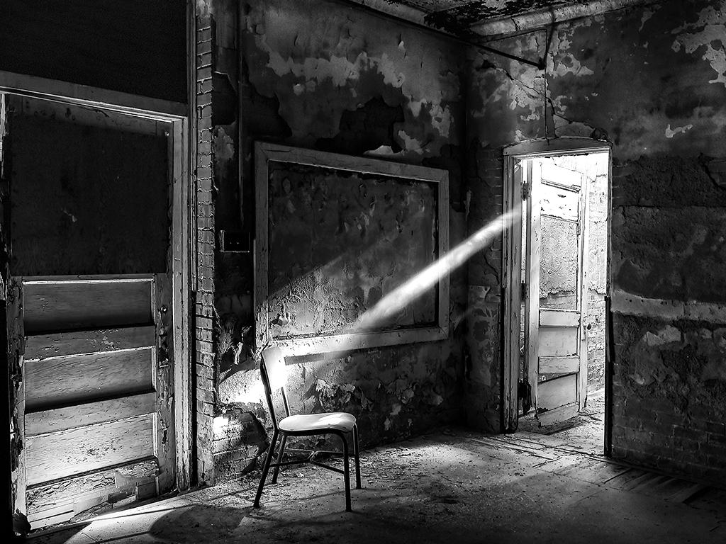 Condemned Classroom, David Morgan, Cowtown Camera Club, 2nd HM