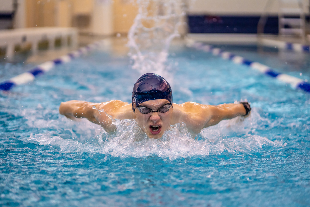 Butterfly Stroke, Dennis Moncla, Beaumont Camera Club, 2nd HM