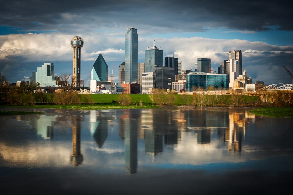 Dallas Skyline, Richard Cox, Dallas Camera Club, Third Place