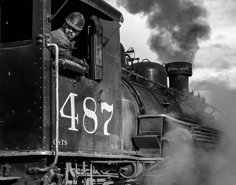 On engine 487, Dennis Fritsche, Plano Photography Club, 1st HM