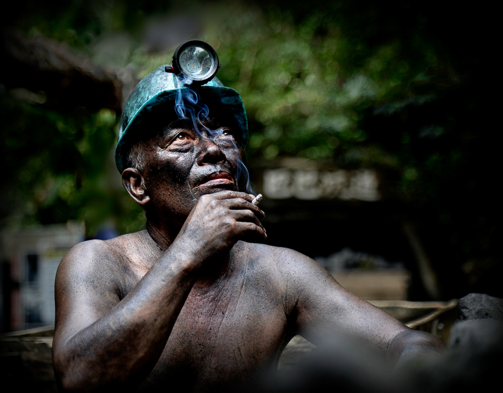 A Taking Five Coal Miner, Ron Lin, Plano Photography Club, Second Place