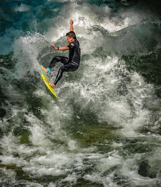 Surf Rider, Randy Ratzlaff, Plano Photography Club, First Place