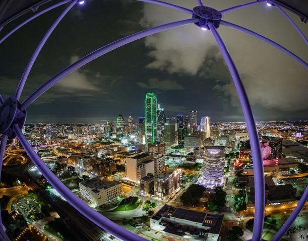 Dallas at Night, Gene Bachman, Louisiana PS, 2nd Place
