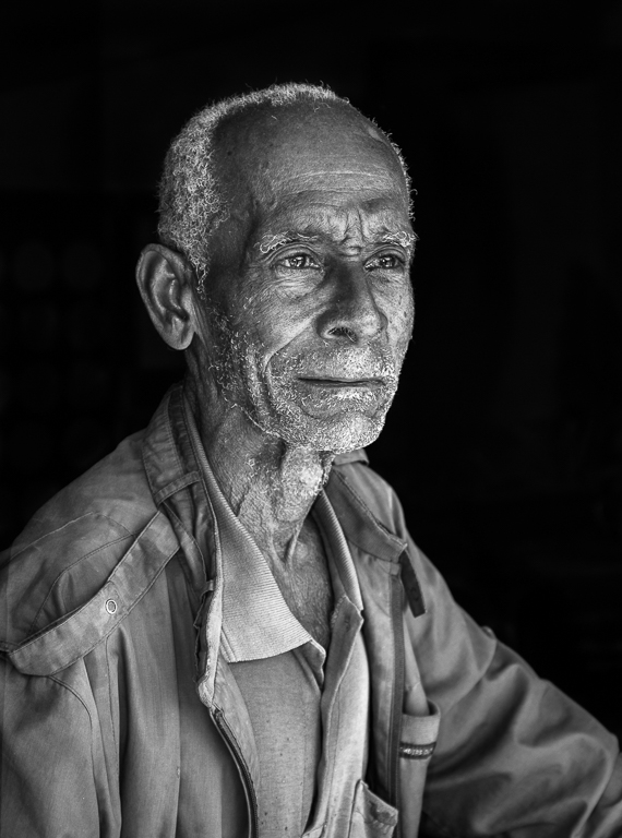 Cuban Man-In Open Window, Susan Kindley, Dallas CC, 1st Place