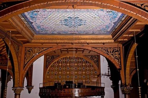 Wilborn Temple Laylight Restoration