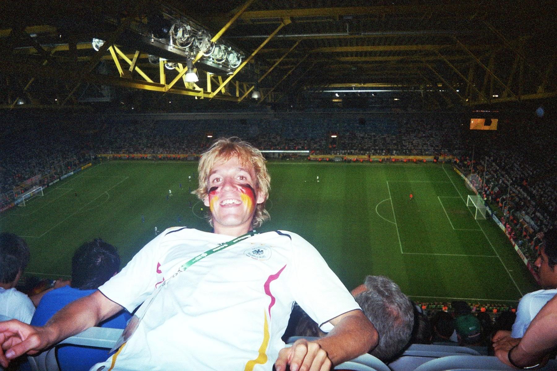 Privat Dortmund, WM-Stadion, 04.07.2006 WM-Halbfinale: Deutschland - Italien (Ergebnis vergessen...)
