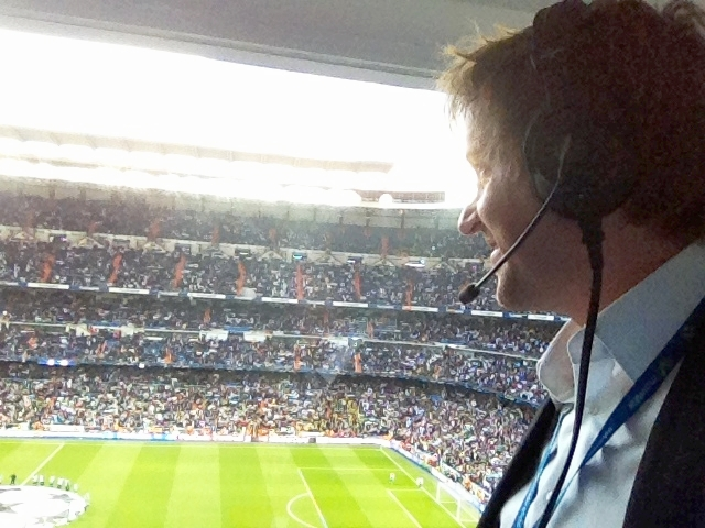90elf Madrid, Estadio Santiago Bernabeu, 20.04.2013 Champions League 1/2-Finale: Real Madrid - Bor. Dortmund (2:0)