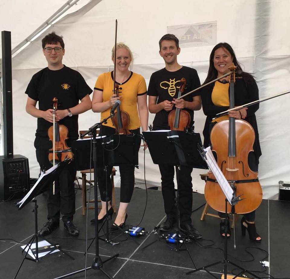 Manchester 'Sting' quartet for bee in the city weekender 2018